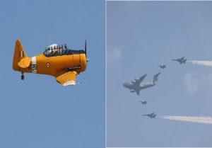 Air Force Day: हिंडन एयरबेस पर भारतीय जवानों ने दिखाया दमखम, देेखें तस्वीरें